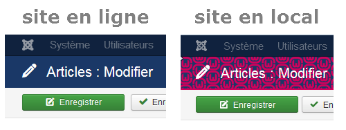 En ligne ou en local ?