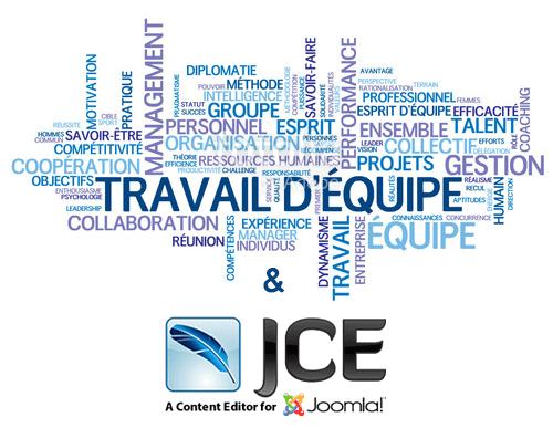 Le travail d'équipe avec JCE